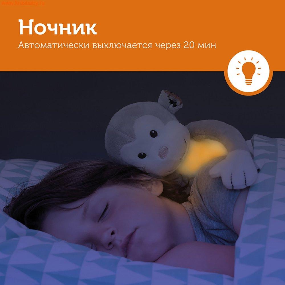 Ночник ZAZU Ночник с успокаивающими мелодиями Обезьянка Макс (фото, вид 3)