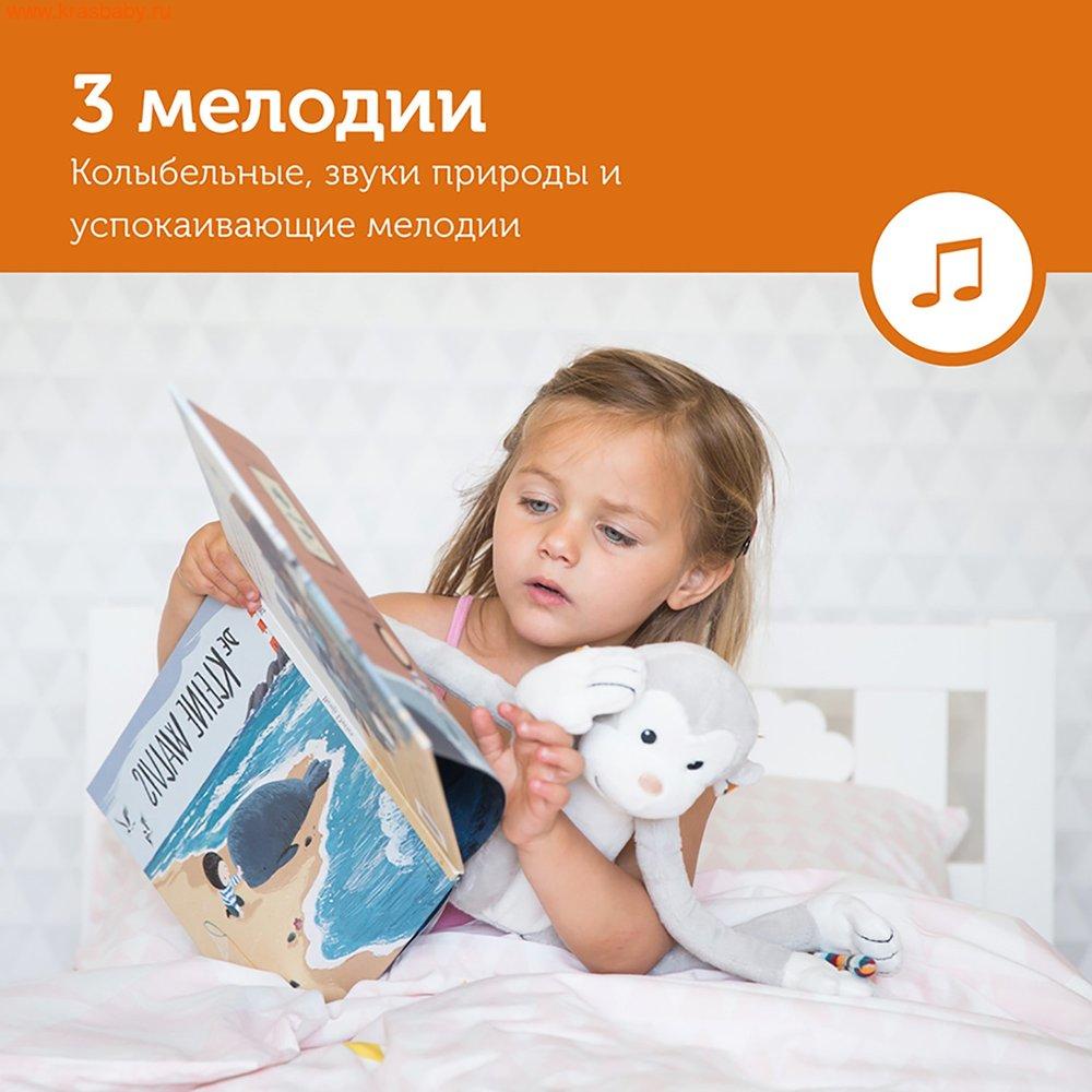 Ночник ZAZU Ночник с успокаивающими мелодиями Обезьянка Макс (фото, вид 4)