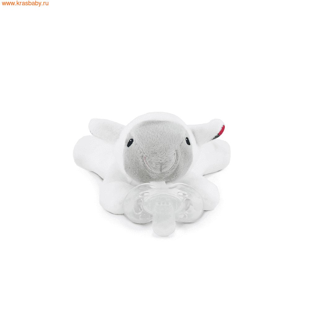 держатель для пустышки ZAZU с игрушкой Овечка Лиззи, Ослик Донни, Щенок Декси (фото, вид 7)