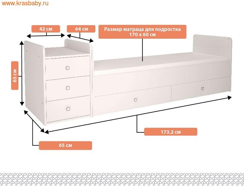 Кровать-трансформер Polini Simple 110 (фото, вид 6)