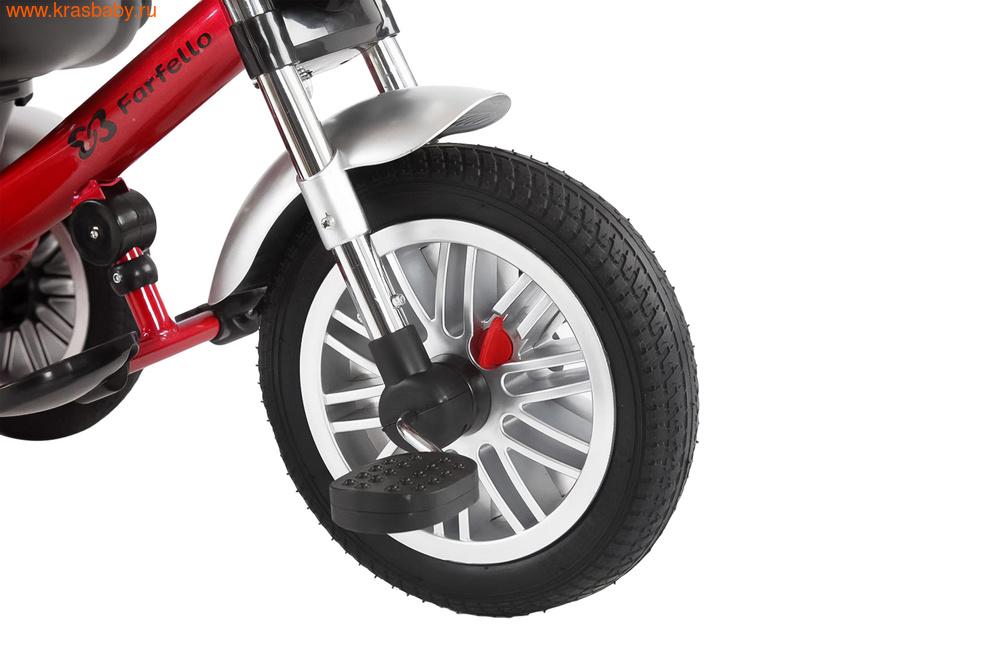 Велосипед FARFELLO ДЕТСКИЙ ТРЁХКОЛЁСНЫЙ ВЕЛОСИПЕД YLT-6189 (фото, вид 6)