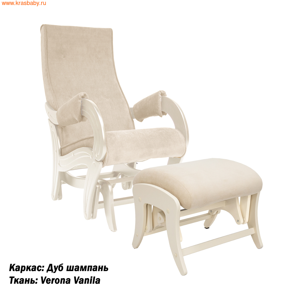 Кресло-качалка MILLI КОМПЛЕКТ MILLI ICE КРЕСЛО-КАЧАЛКА (фото, вид 1)