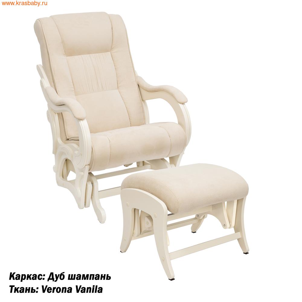 Кресло-качалка MILLI КОМПЛЕКТ MILLI STYLE КРЕСЛО-КАЧАЛКА (фото, вид 1)
