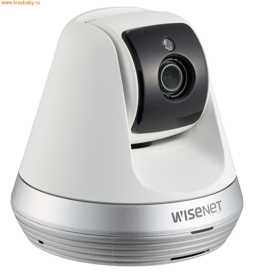 Видеоняня Wisenet Wi-Fi Видеоняня SmartCam SNH-V6410PNW (фото, вид 1)