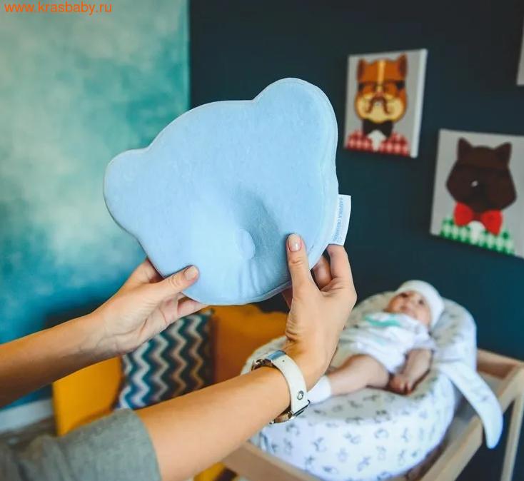 Подушка Фабрика облаков Подушка для новорожденного Мишка (фото, вид 2)