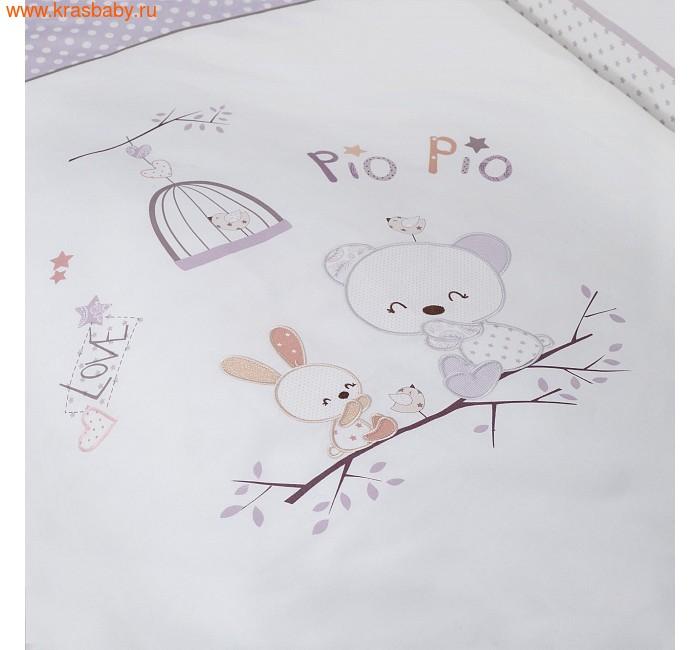 """Комплект постельного белья PERINA Комплект постельного белья """"Pio Pio"""", 7 предметов (фото, вид 1)"""