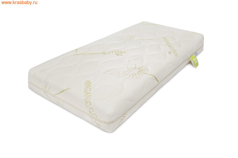 Матрас детский PLITEX Детский Матрас Organic Cotton 119*60*11 см (фото, вид 1)