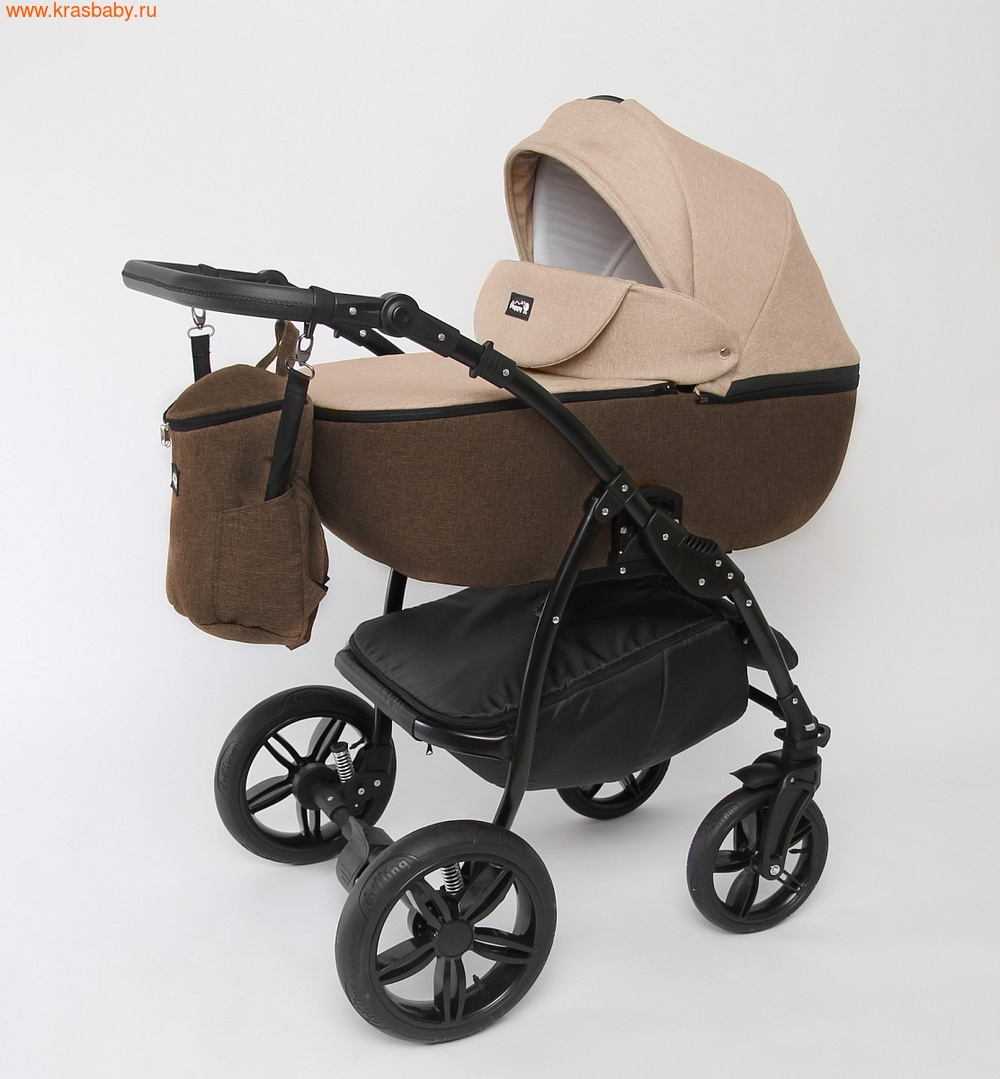 Коляска модульная PEPPY Детская коляска Sandra 2 в 1 (фото, вид 2)