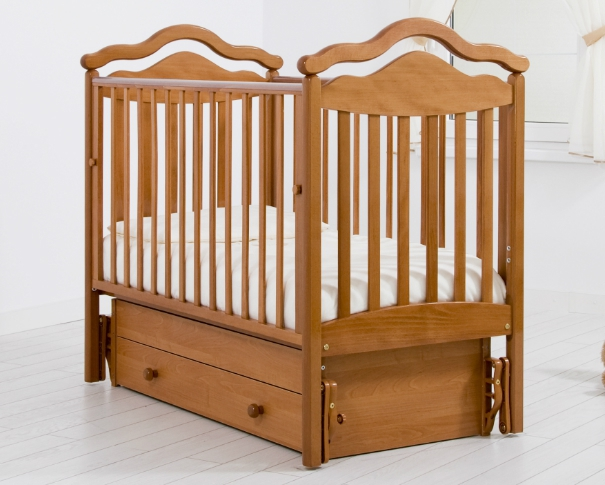 Кроватка GANDYLYAN АНЖЕЛИКА (качалка) (фото, вид 2)