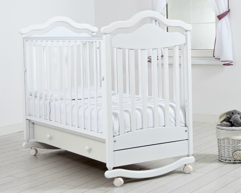 Кроватка GANDYLYAN АНЖЕЛИКА (качалка) (фото, вид 3)
