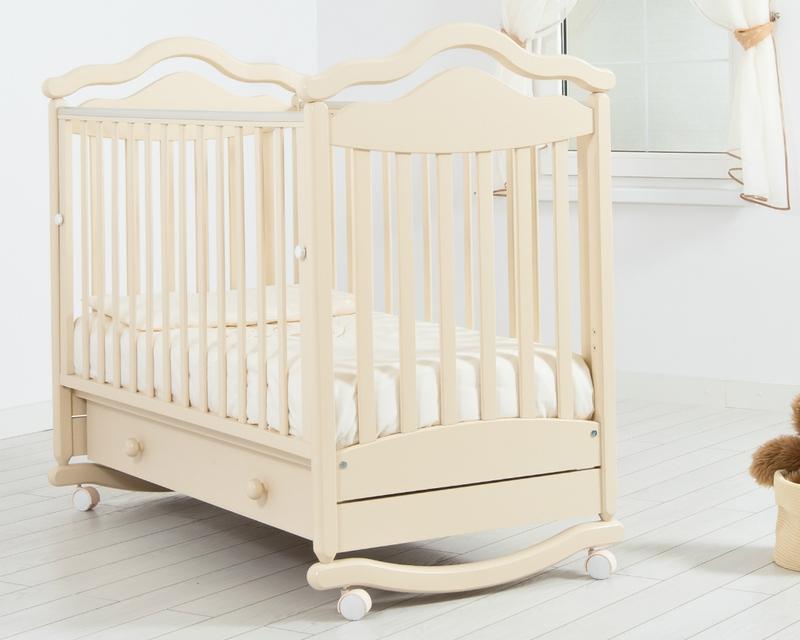 Кроватка GANDYLYAN АНЖЕЛИКА (качалка) (фото, вид 4)