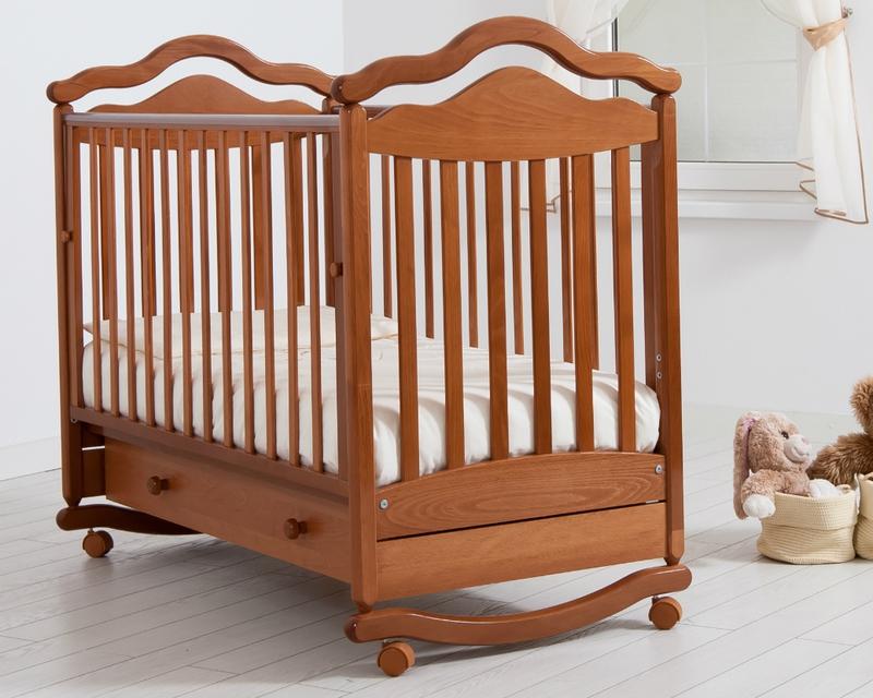 Кроватка GANDYLYAN АНЖЕЛИКА (качалка) (фото, вид 5)
