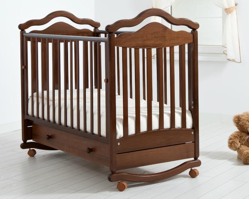 Кроватка GANDYLYAN АНЖЕЛИКА (качалка) (фото, вид 6)