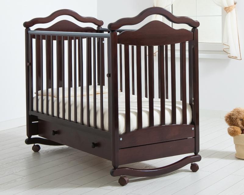Кроватка GANDYLYAN АНЖЕЛИКА (качалка) (фото, вид 7)