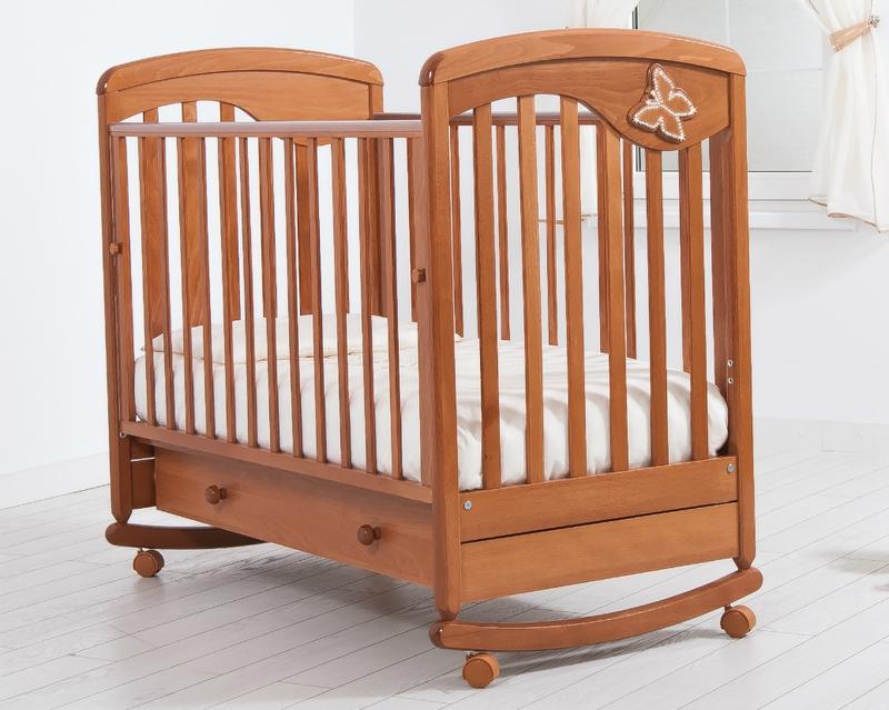 Кроватка GANDYLYAN ДЖУЛИЯ (бабочка) (фото, вид 1)