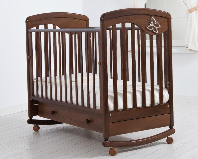 Кроватка GANDYLYAN ДЖУЛИЯ (бабочка) (фото, вид 3)