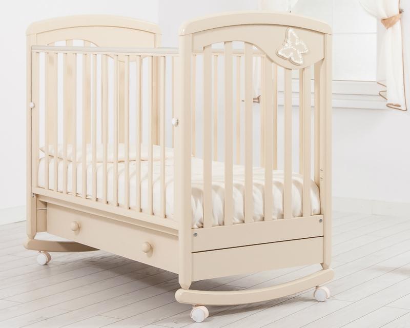 Кроватка GANDYLYAN ДЖУЛИЯ (бабочка) (фото, вид 5)