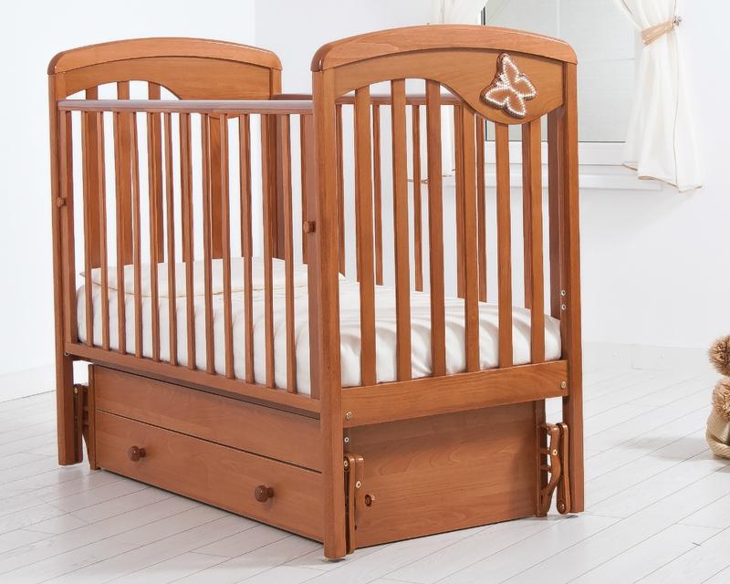 Кроватка GANDYLYAN ДЖУЛИЯ (бабочка) (фото, вид 9)