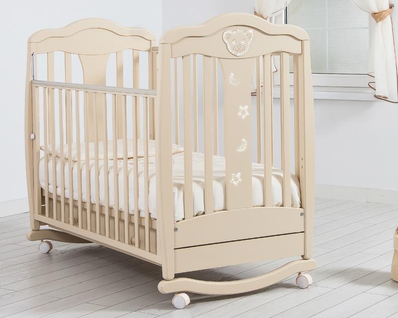Кроватка GANDYLYAN МИШЕЛЬ (качалка) (фото, вид 14)