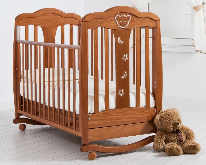 Кроватка GANDYLYAN МИШЕЛЬ (качалка) (фото, вид 15)