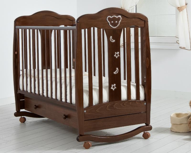 Кроватка GANDYLYAN МИШЕЛЬ (качалка) (фото, вид 16)