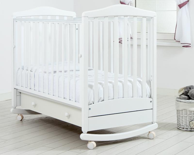 Кроватка GANDYLYAN СИМОНИК (качалка) (фото, вид 2)