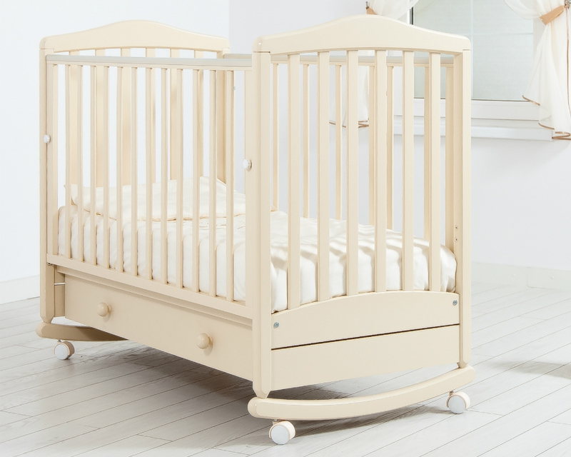 Кроватка GANDYLYAN СИМОНИК (качалка) (фото, вид 3)