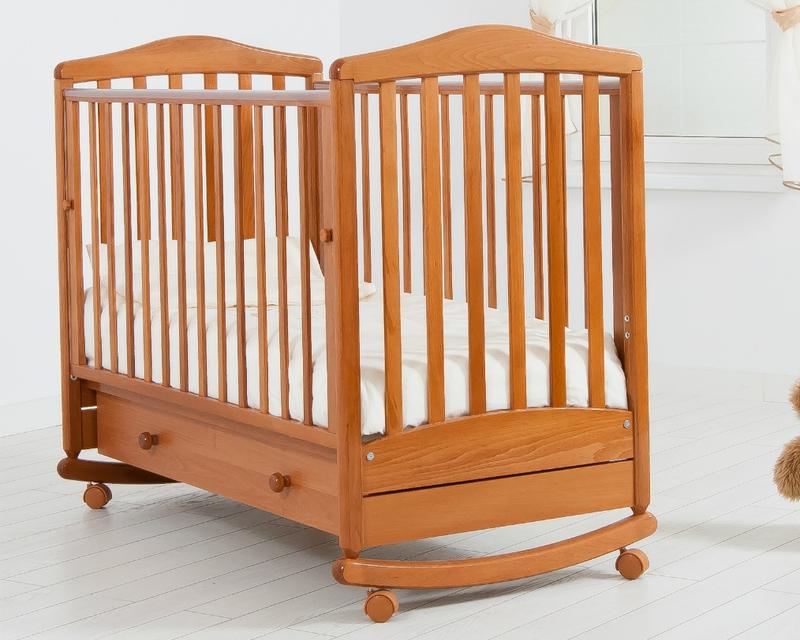 Кроватка GANDYLYAN СИМОНИК (качалка) (фото, вид 5)