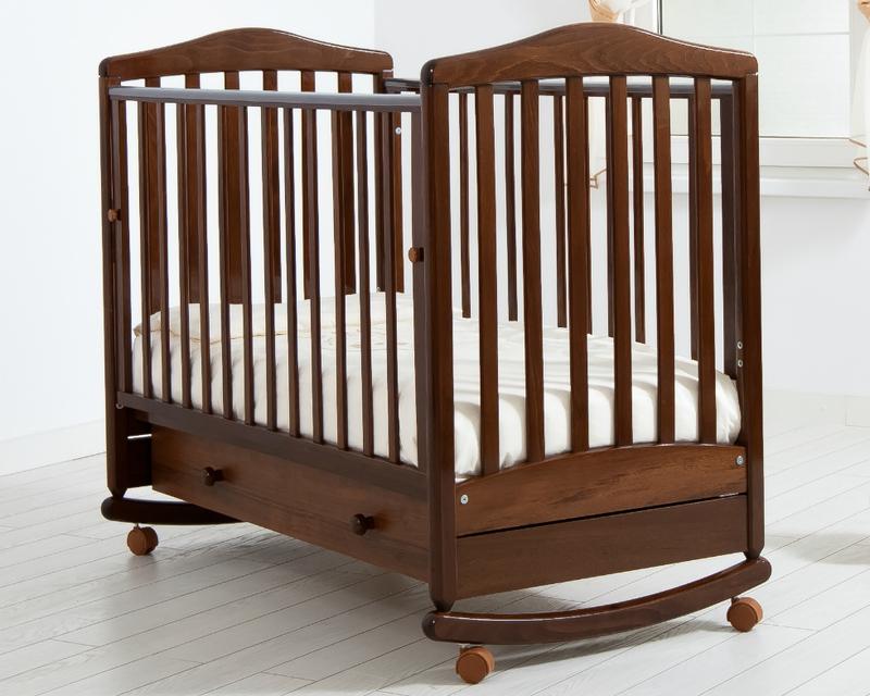 Кроватка GANDYLYAN СИМОНИК (качалка) (фото, вид 6)