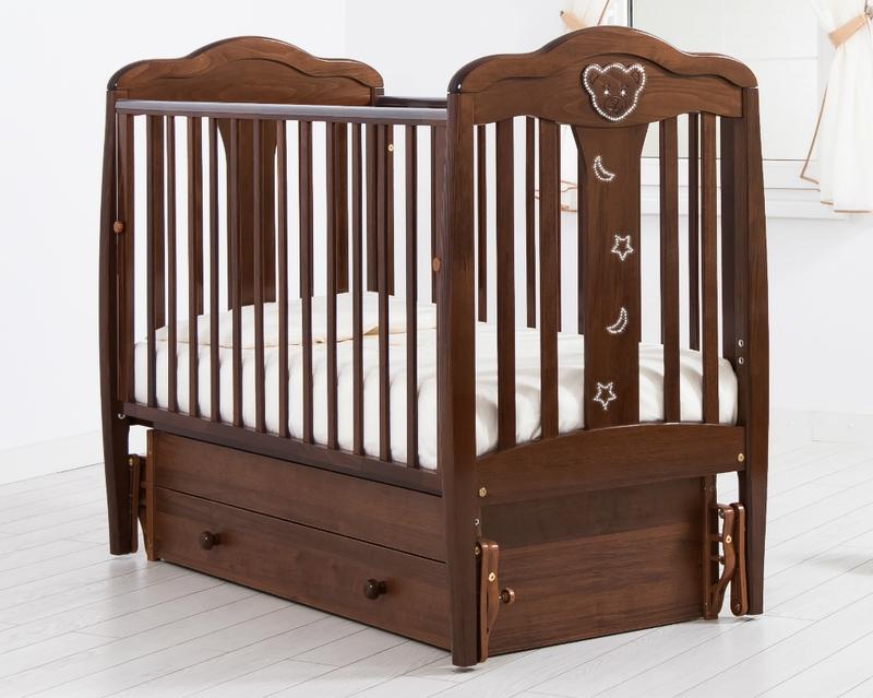 Кроватка GANDYLYAN МИШЕЛЬ (качалка) (фото, вид 21)