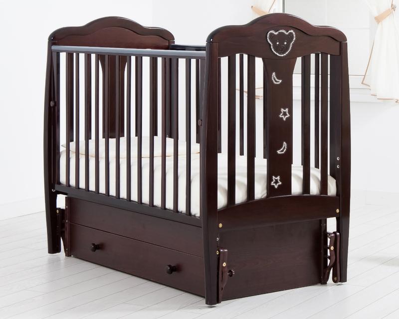 Кроватка GANDYLYAN МИШЕЛЬ (качалка) (фото, вид 22)