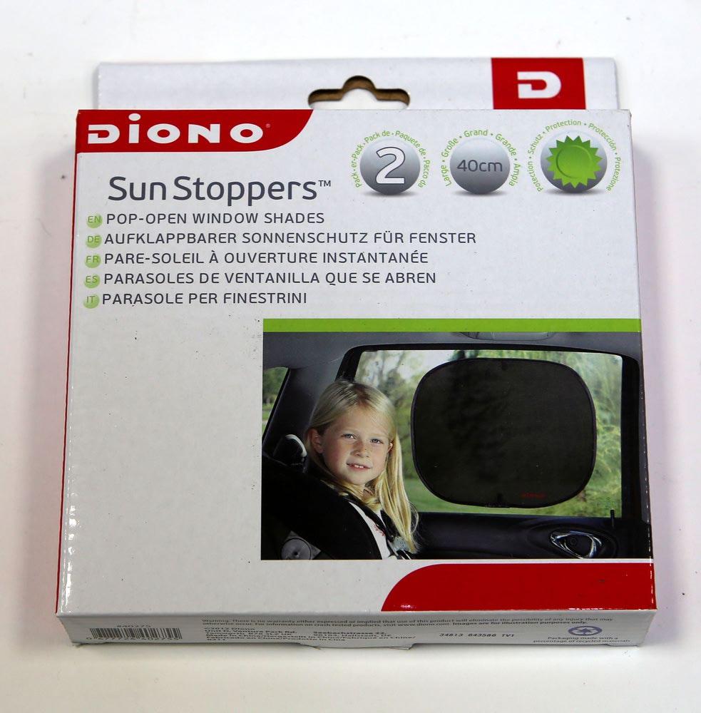 DIONO Шторки от солнца для боковых стекол Sun Stoppers (фото, вид 1)
