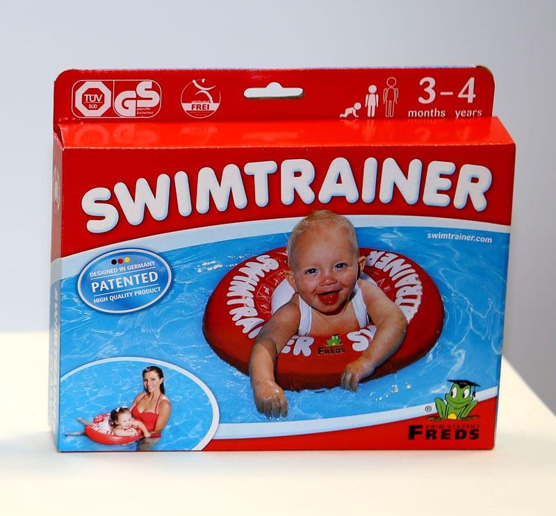Круг для купания SWIMTRAINER обучающий плаванью (фото, вид 3)