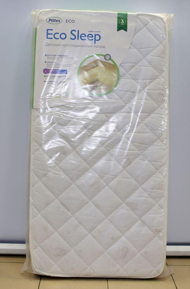 Матрас детский ПЛИТЕКС ECO SLEEP (119x60) (фото, вид 1)