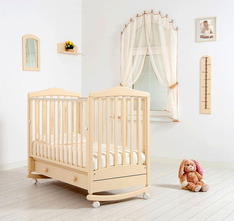 Кроватка GANDYLYAN СИМОНИК (качалка) (фото, вид 7)