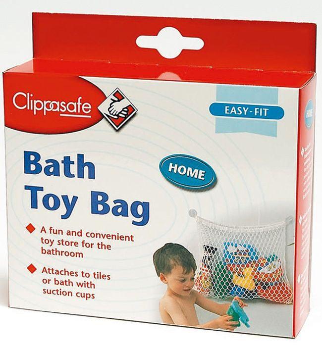 CLIPPASAFE Сумка для игрушек в ванную (фото, вид 4)