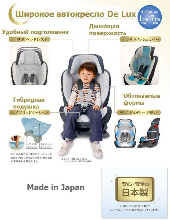 Автокресло CARMATE Swing Moon Premium (9-25 кг) (фото, вид 2)