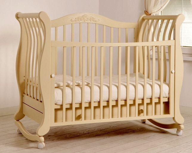 Кроватка GANDYLYAN Габриэлла (качалка) (фото, вид 1)