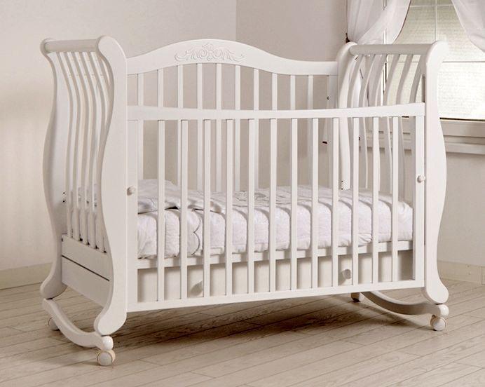 Кроватка GANDYLYAN Габриэлла (качалка) (фото, вид 3)