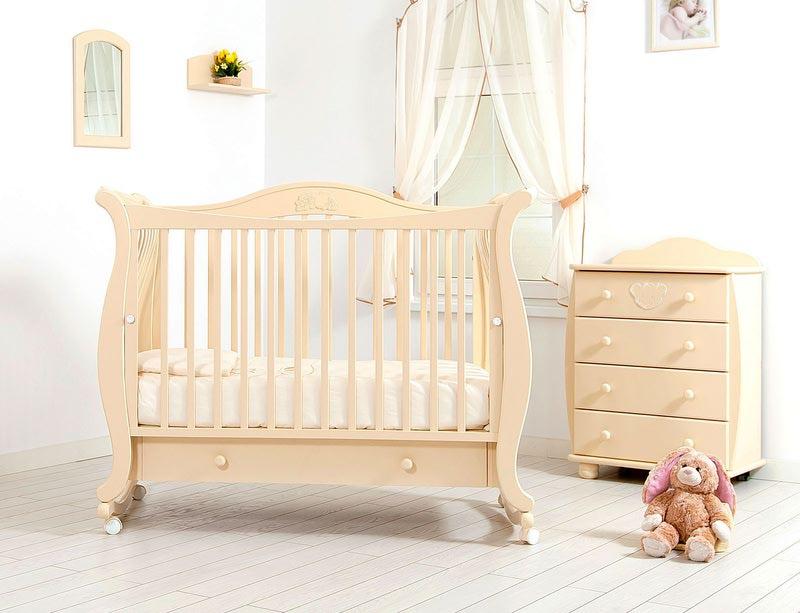 Кроватка GANDYLYAN Габриэлла (качалка) (фото, вид 5)