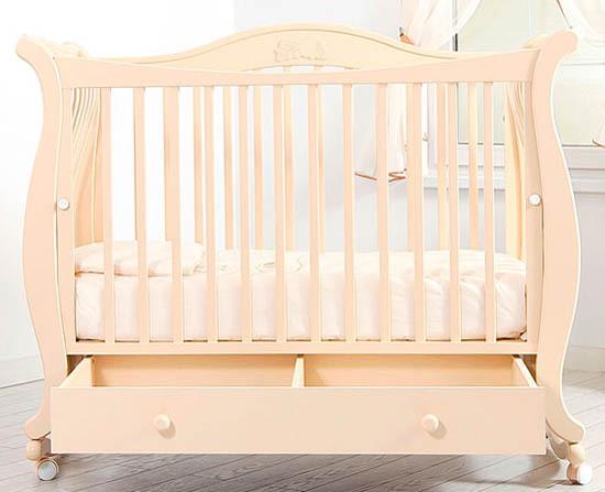 Кроватка GANDYLYAN Габриэлла (качалка) (фото, вид 6)