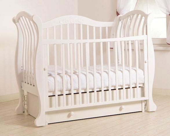 Кроватка GANDYLYAN Габриэлла люкс (маятник универсальный) (фото, вид 3)