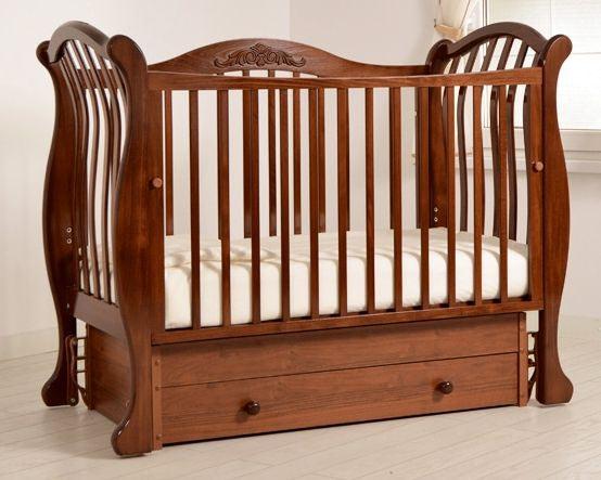 Кроватка GANDYLYAN Габриэлла люкс (маятник универсальный) (фото, вид 4)