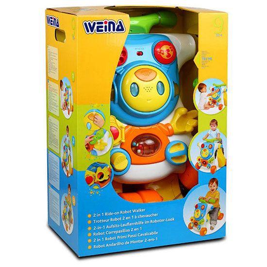 Ходунки детские WEINA Робот (от 9 месяцев) (фото, вид 5)