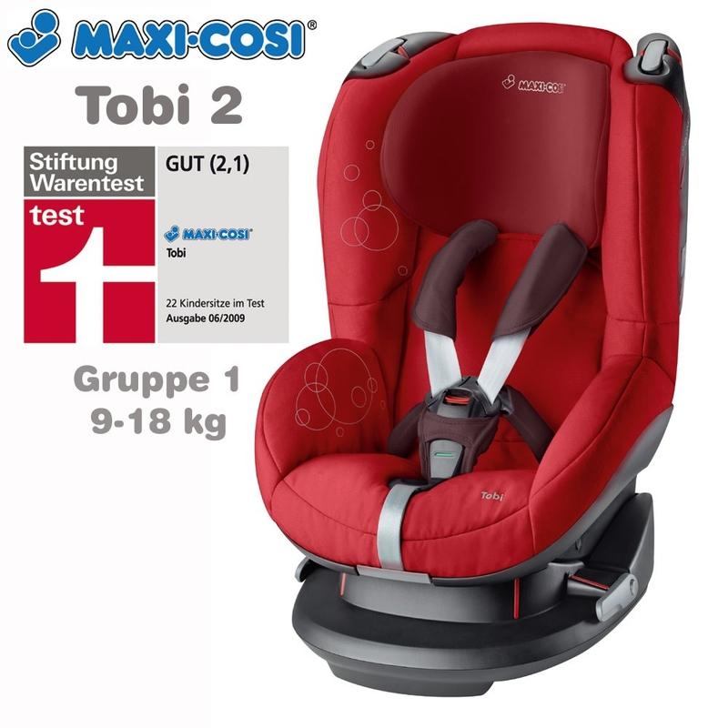 Автокресло Maxi-Cosi TOBI (9-18 кг) (фото, вид 3)