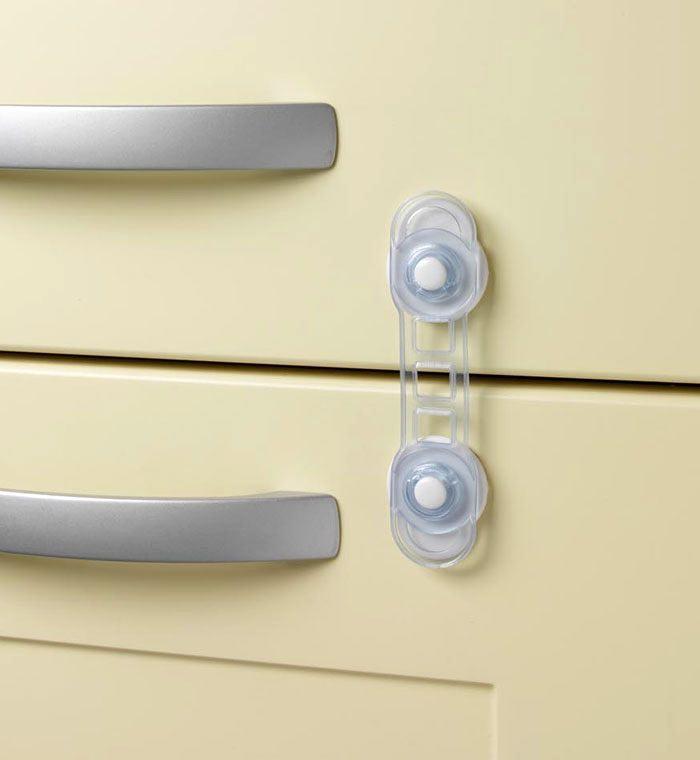 CLIPPASAFE Универсальный mini-замок для дверей на присоске CL85 (фото, вид 2)