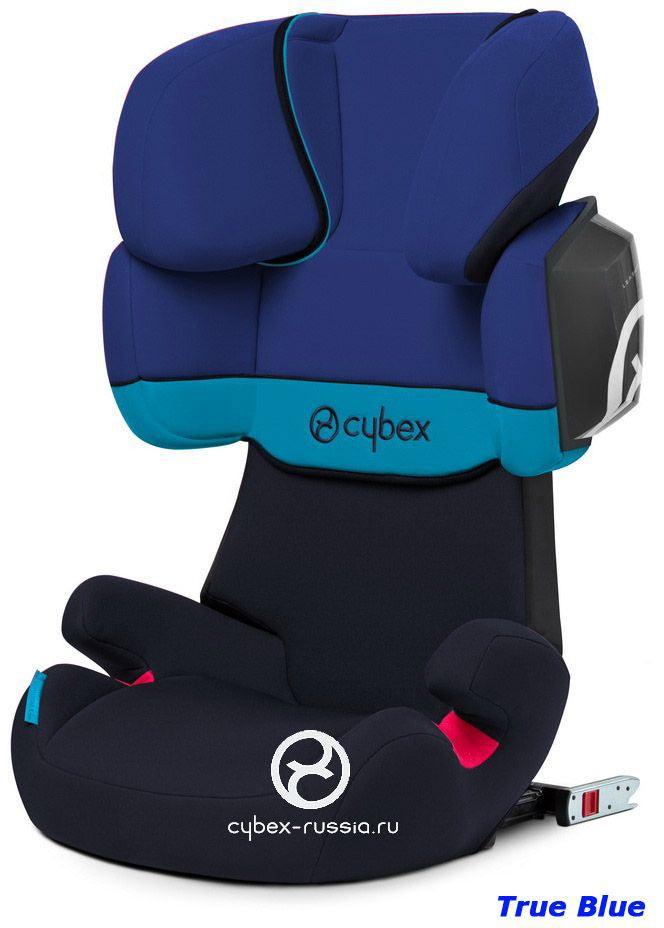 Автокресло CYBEX SOLUTION X2 FIX (15-36 кг) (фото, вид 2)