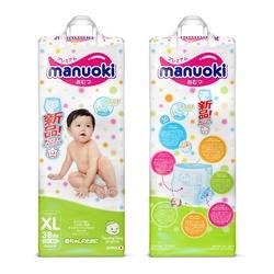 Manuoki Подгузники-трусики размер XL 12+кг, 38 шт. Вид 2