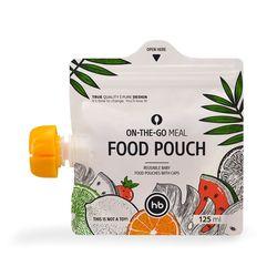 HAPPY BABY Многоразовые пакеты для детского питания FOOD POUCH. Вид 2