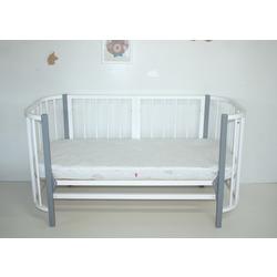 Кровать-трансформер SOOHOOKIDS Комплект удлинения Белый для Прямоугольной кроватки PAPPY. Вид 2
